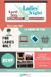Ladies' Night Infographic