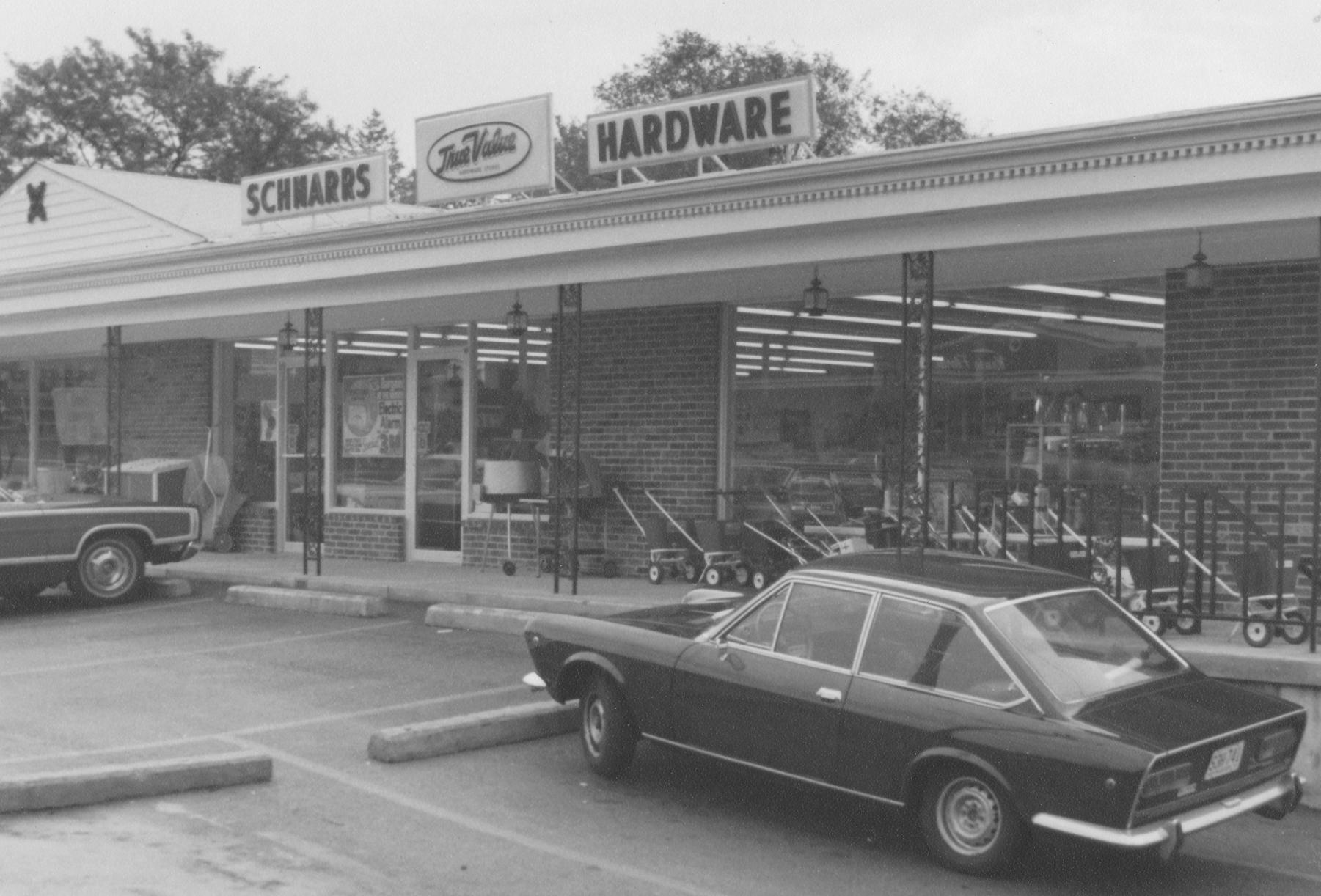 A retro view of Schnarr's Hardware