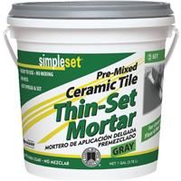 SimpleSet Pre-Mixed Ceramic Tile Thin-Set Mortar