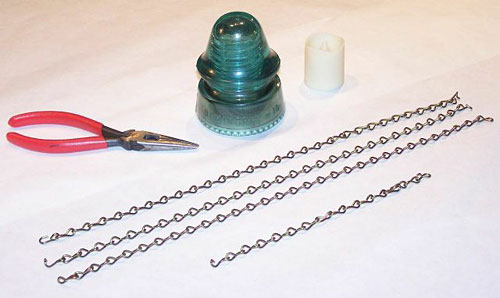 Items for making the insulator lamp