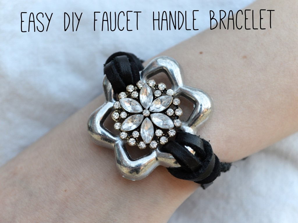 Faucet Handle Bracelet Tutorial